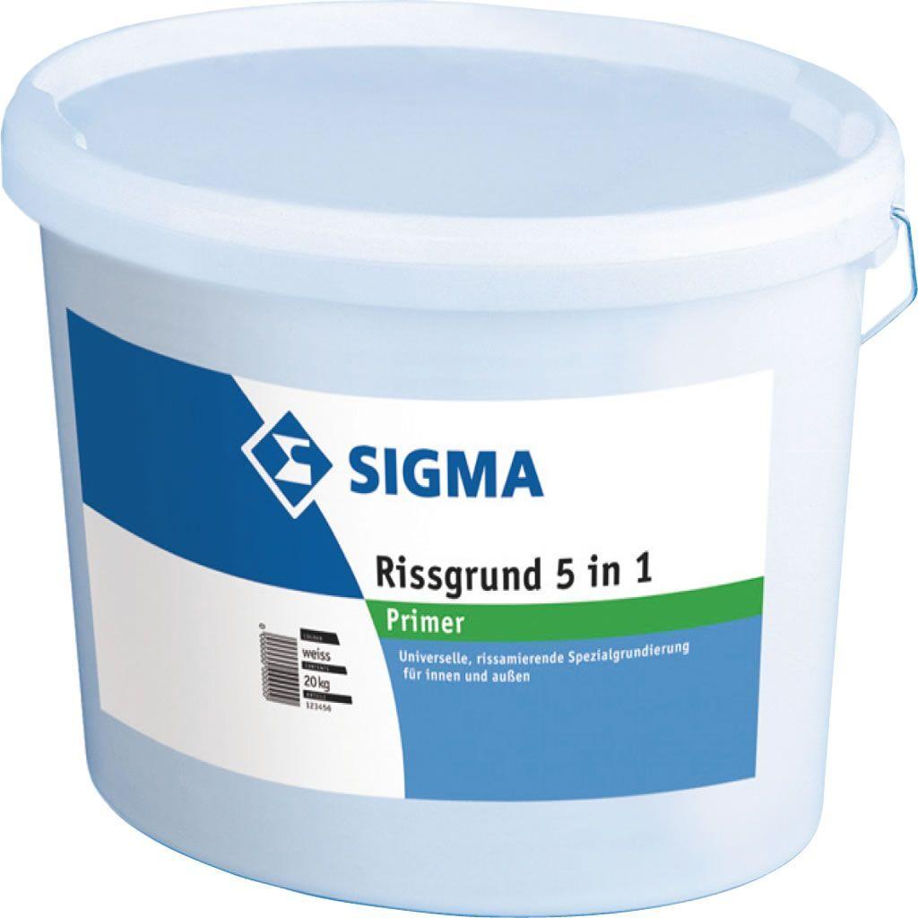 Sigma Rissgrund 5 in 1 20kg -Universelle, rissarmierende Spezialgrundierung-