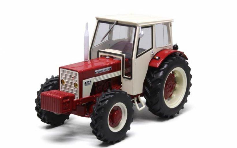 IH 724 4x4 Cab Trattore Tractor 1:32 Model REPLICAGRI