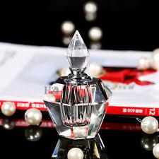 Clear Crystal Empty Refillable Perfume Bottle Wedding Decor Gift Stopper 4ml