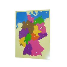Montessori: Puzzlekarte Deutschland