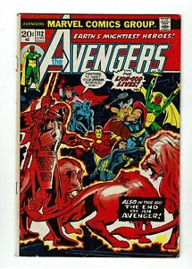 Avengers-112-VG-FN-5-0-1st-Appearance-of-Mantis-Black-Widow-Leaves-Avengers
