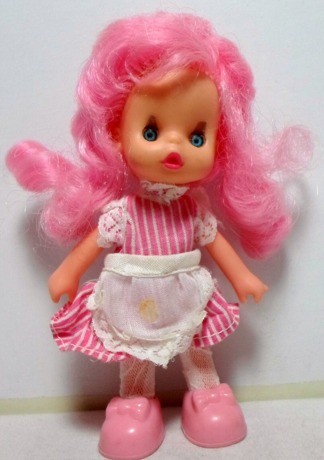 EL GRECO 80'S VTG HAPPY HAPPY SISTERS DOLL ULTRA RARE MUST HAVE MISSING HAT