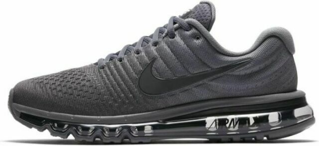 Mens Nike Air Max 2017 Athletic Running Shoes 849559 008 Cool GreyAnthracite Gr