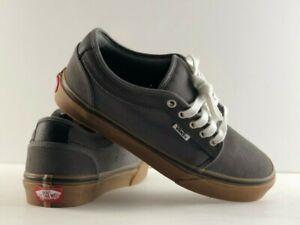 0563ae90af7f69 Image is loading Vans-Chukka-Low-Pewter-amp-Gum-Skate-Shoes-