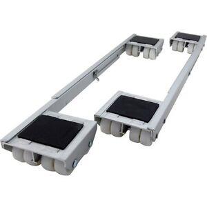 Shepherd Hardware 9603 Adjustable Aluminum Appliance Rollers