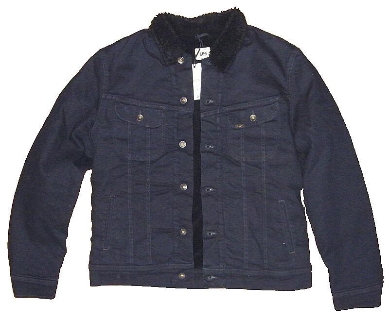 lee men 39 s sherpa jacket herren teddy jeans jacke gr en. Black Bedroom Furniture Sets. Home Design Ideas