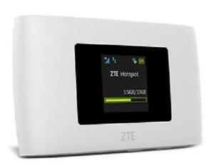 Details about Brand New Boost Mobile 4G LTE - ZTE Warp Connect WiFi Mobile  Hotspot - White