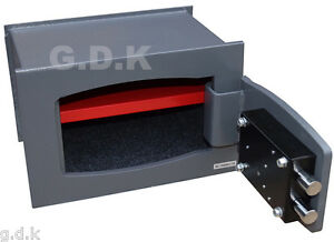 GDK BUILT IN WALL, FLOOR, SAFE, HIGH SECURITY, HOME, OFFICE VALUABLES 10MM STEEL 5060449070960