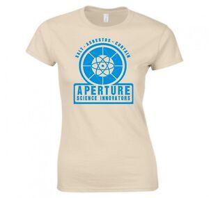 PORTAL-034-APERTURE-SCIENCE-INNOVATORS-034-LADIES-T-SHIRT-NEW