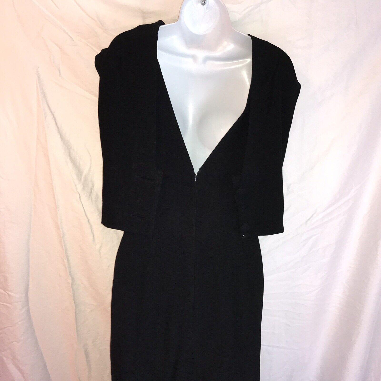 Ceil Chapman Vintage Black Dress - image 6