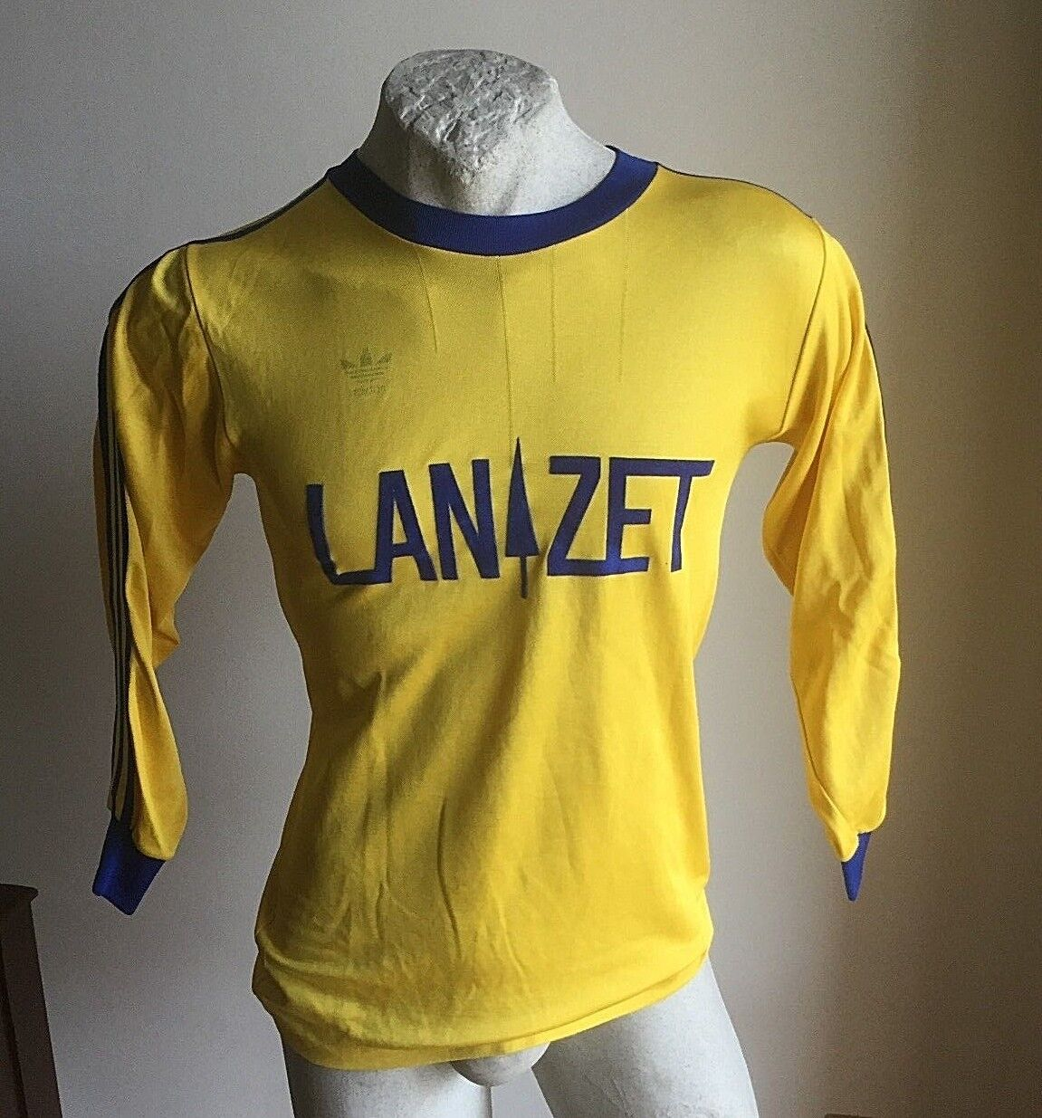 MAGLIA CALCIO ADIDAS LANZET TRIKOT FOOTBALL SHIRT JERSEY 7VINTAGE WEST GERMANY