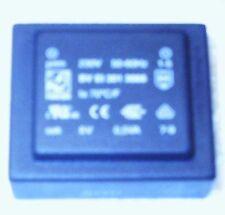 Trafo Transformator Hahn 230V 50-60Hz BV EI 301 3005 ta 70° C/F 6V 0,5VA