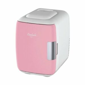 Cooluli Mini Fridge Electric Cooler and Warmer (4 Liter / 6 Can) USB/AC/DC