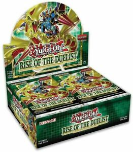 Yu-Gi-Oh RISE OF THE DUELIST BOOSTER BOX SEALED SHIPS 8/7