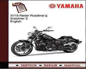 yamaha xv19 xv1900 raider roadliner stratoliner s repair workshop rh ebay co uk yamaha raider manual pdf yamaha raider owners manual pdf
