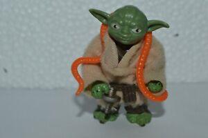 1980 Star Wars YODA Jedi Master TESB 3 3/4 Kenner Pacman Eyes Original Vintage