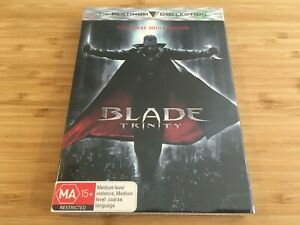 Blade-Trinity-DVD-PAL-Region-4-Brand-New-amp-Sealed-Free-Postage