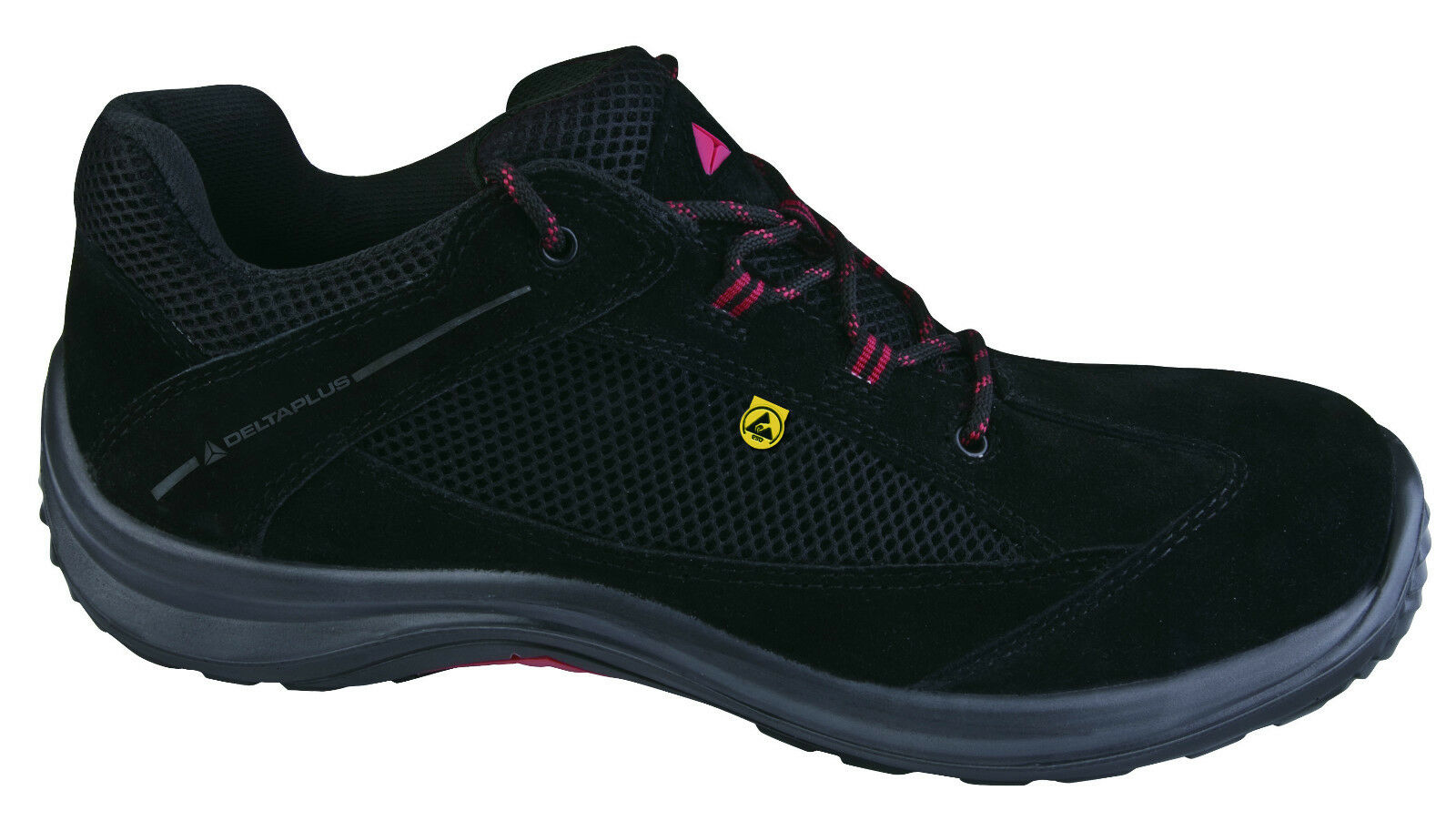 Delta Plus Panoply Viagi ESD nero Ladies Composite Toe Safety Trainers scarpe