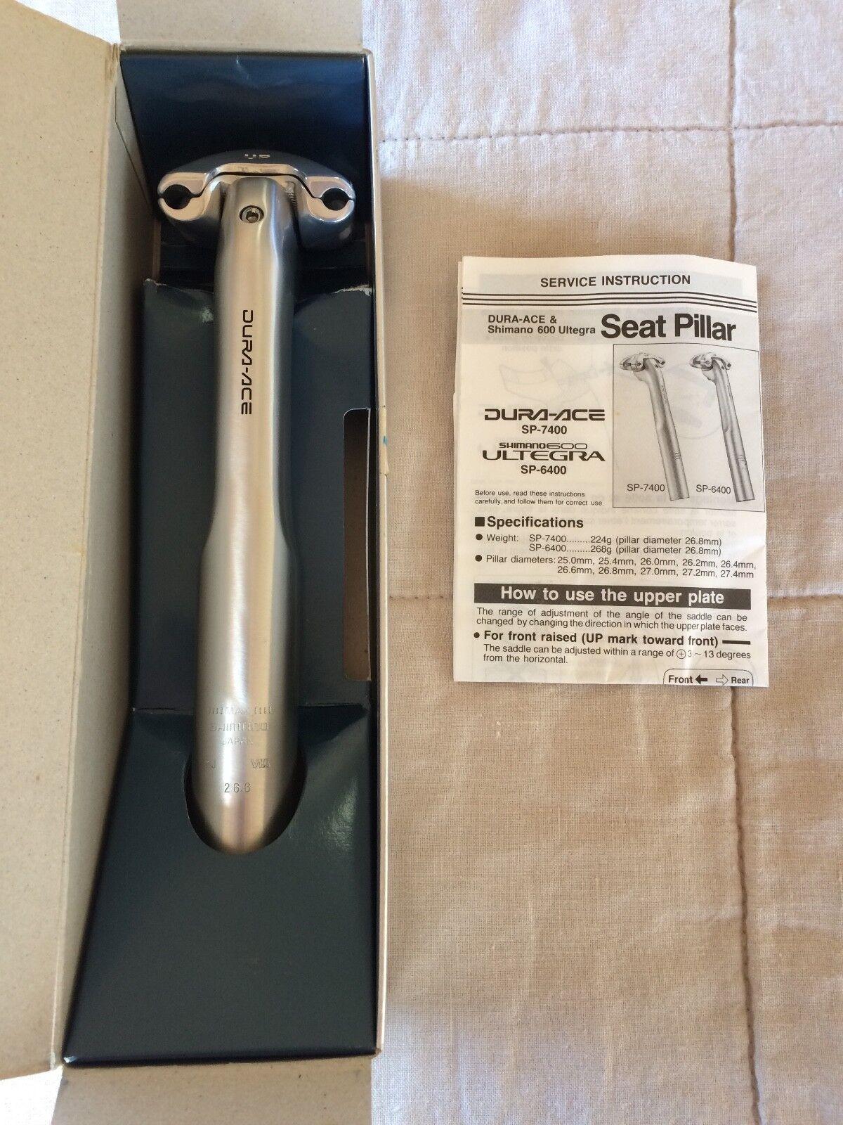 SHIMANO Dura-ace Seat Post 7400 26.6 mm