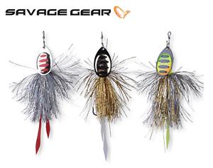 Savage-Gear-P-Spinner-Brochet-Predateur-Peche-Leurres-18-27-g-Couleurs-Diverses