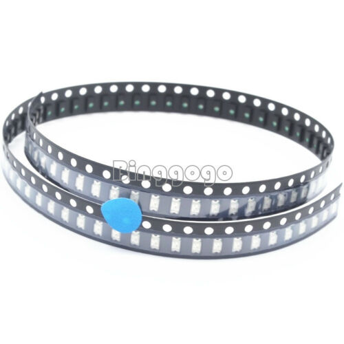 50Stks SMD SMT 1206 BLUE Super bright BLUE LED lamp Bulb NEW