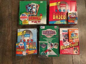 Huge-Lot-of-Unopened-1990-Baseball-Card-Packs-from-Box-Case-Cello-Wax-Rack-BONUS