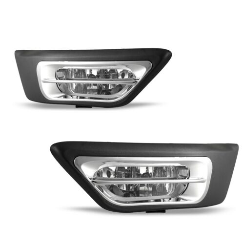 For Honda CR-V 02-04 Factory Replacement Fit Fog Lights Wiring Kit Clear Lens