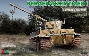 Réservoir de récupération modèle de champ de seigle Tiger I Sd.kfz.185 Italie 1944 1/35 Cod.rm5008