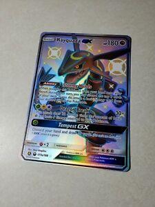 Jumbo-Shiny-Rayquaza-GX-Alternate-Art-177a-168-Promo-English-Pokemon-Near-Mint