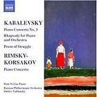 Kabalevsky: Piano Concerto No. 3; Rhapsody; Poem of Struggle; Rimsky-Korsakov: Piano Concerto (2008)