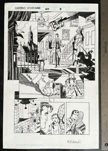AMAZING SPIDER-MAN #417 RON GARNEY AL WILLIAMSON ORIGINAL ART