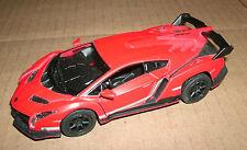 1/36 Scale Lamborghini Veneno Diecast Model Car Exotic Supercar Kinsmart KT5367