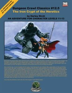 1x-Dungeon-Crawl-Classics-12-5-the-Iron-Crypt-of-the-Heretics-Used-Fine-Dungeo