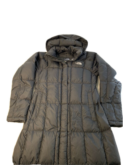 The North Face Womens Triple C 700 Down Long Maxi Coat Black Size XS NWT