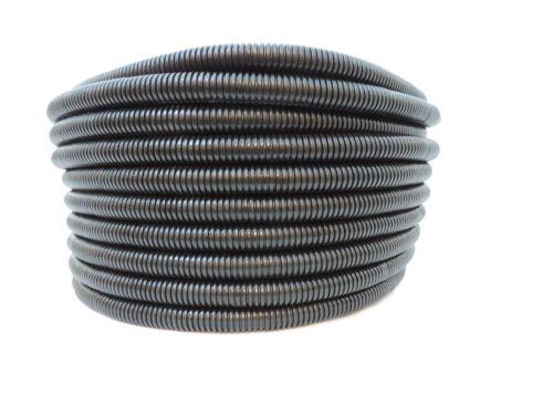 "Commercial Grade Black or Orange 1/"" x 100/'  Non-Split LDPE Wire Loom Tubing"