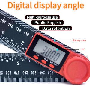 Accurate Ruler Measuring Goniometer Tool Gauge Digital Angle Finder