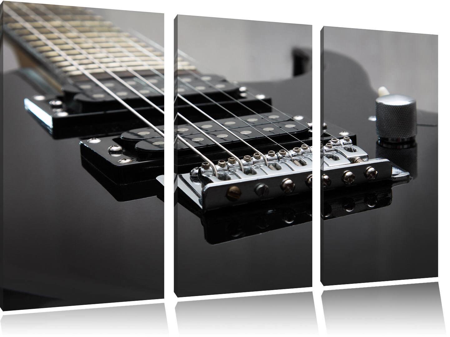 Noir E Guitar 3 Teiler Image De De De Toile Décoration Murale 40eaae