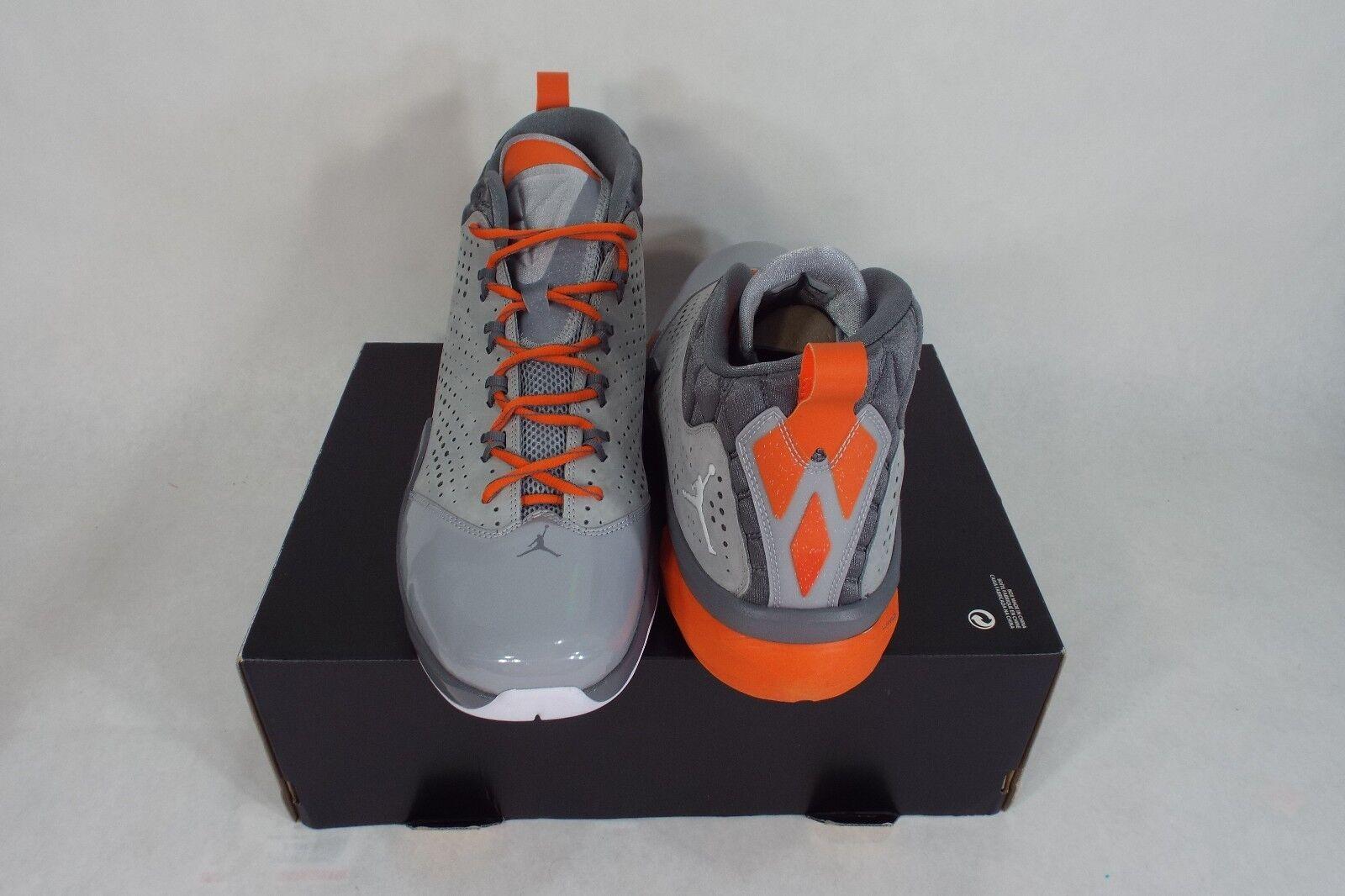 RARE SAMPLE New Hommes 9 NIKE Jordan Gris Flight Time 14.5 Gris Jordan  Chaussures  130 654272-017 837c8c