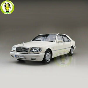 1-18-Mercedes-Benz-S600-V12-W140-Diecast-Car-Model-Toys-Boys-Girls-Gifts-White