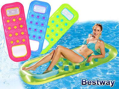 Spielzeug Aufrichtig Bestway Solar Luftmatratze Pool Float Mit Sichtfenster Und Offenem Fußteil Blau Chinesische Aromen Besitzen