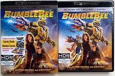 Transformers: Bumblebee (DVD, Includes Digital Copy 4K Ultra HD Blu-ray/Blu-ray)