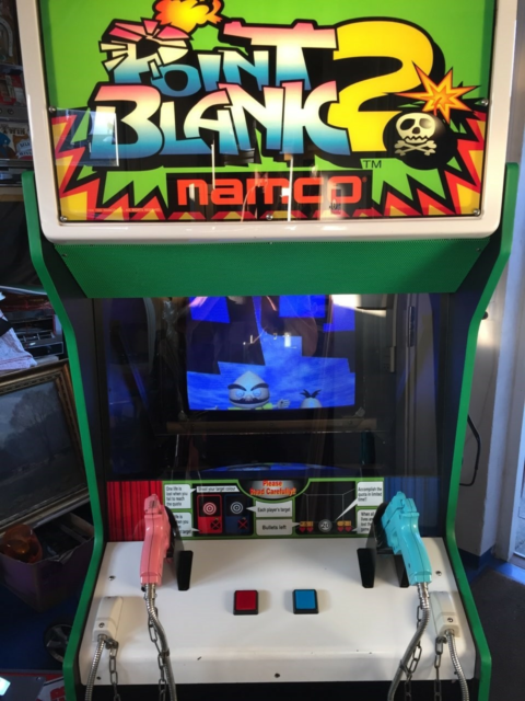 Point Blank 2. Namco, arkademaskine, God, Super pæn og…
