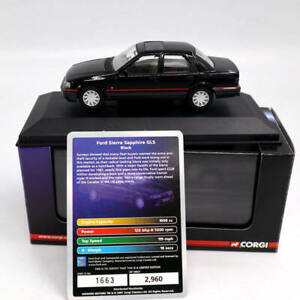 Corgi-LLEDO-Vanguards-Ford-Sierra-Sapphire-GLS-VA09901-1-43-Limit-Edition-Black