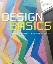 Design Basics by Stephen Pentak and David A. Lauer (2015, Paperback)