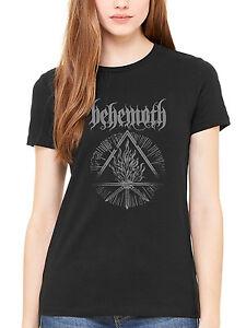 Women's Shirt Furor Divinus Satanist T Official Behemoth Hardcore LVzqpSUMG