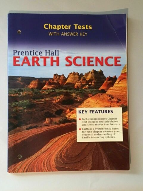Earth Science Chapter Tests And Answer Key By Frederick K Lutgens And Edward J Tarbuck Hardcover