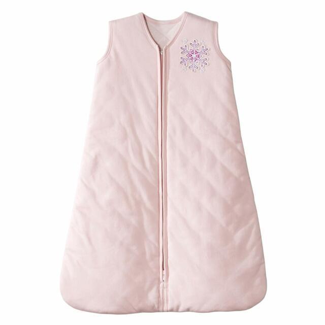 Halo SleepSack Winter Weight Pink Snowflake Large 12-18 ...