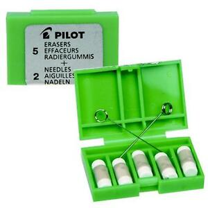 Pilot-Ms-10-Mechanical-Pencil-Replacement-Eraser-Refills-Pack-of-5