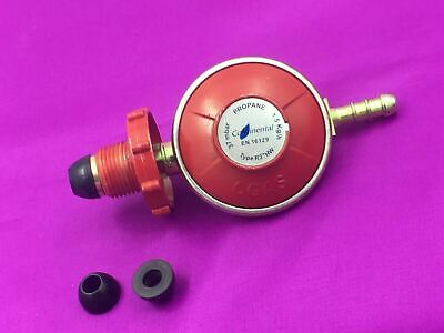 Propane Gas 37mbar HAND WHEEL Red Regulator Calor Flogas Caravans Motor Homes