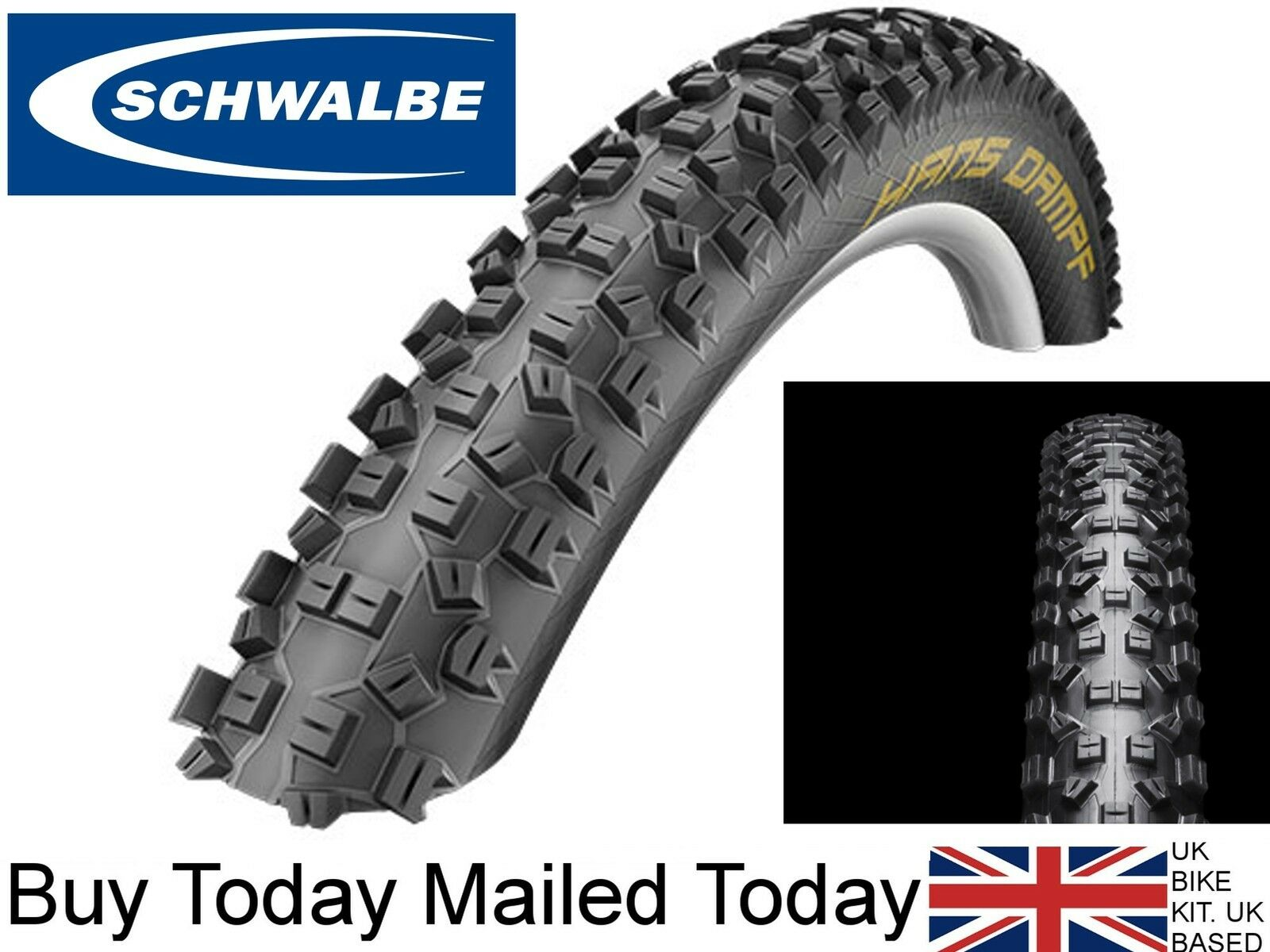 Schwalbe Hans Dampf Performance  Lite Skin Tubeless Ready 26 x 2.35 Folding Tyre  order now lowest prices